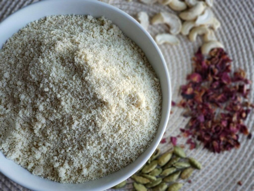 Gulab Kaju Barfi Ingredients